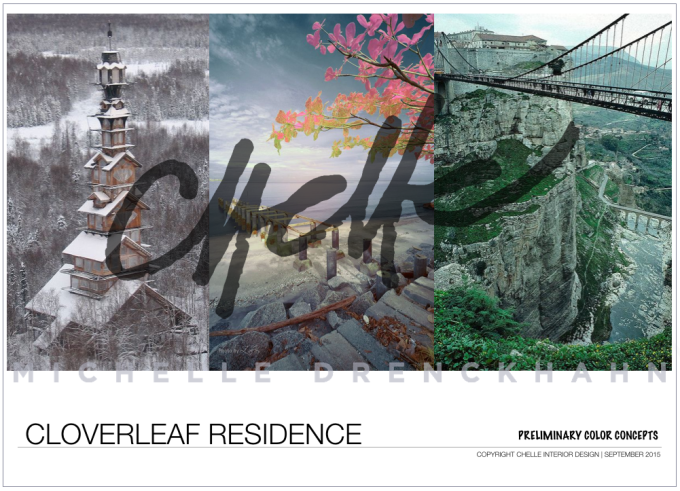 Cloverleaf Residence ~ Chelle Interior Design ~ copyright 2015