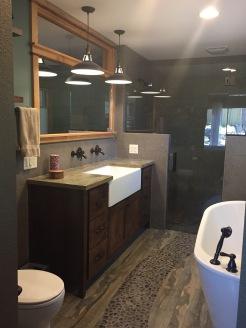 Master Bathroom From Door