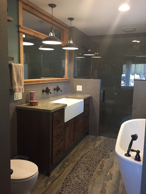Master Bathroom From Door